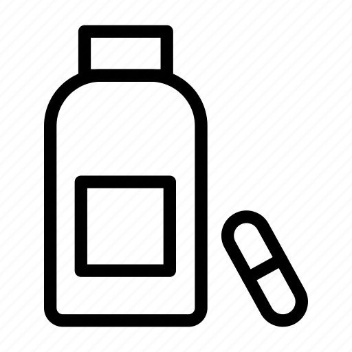 Bottle, drugs, jar, medicine, pills icon - Download on Iconfinder