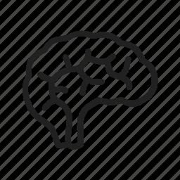 brain, human, medical, mind, neuro, neurology, neurons icon
