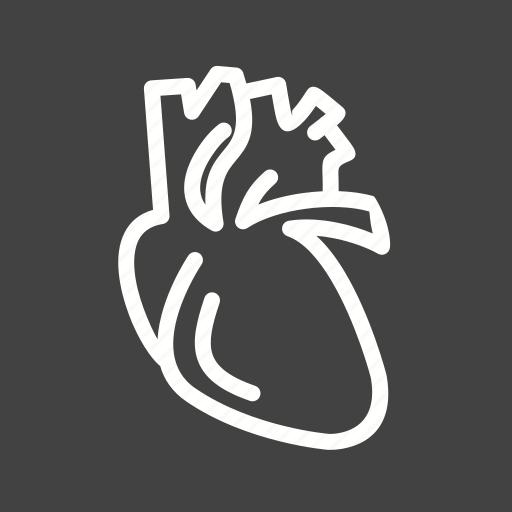 artery, body, cardiology, heart, human, medical, organ icon