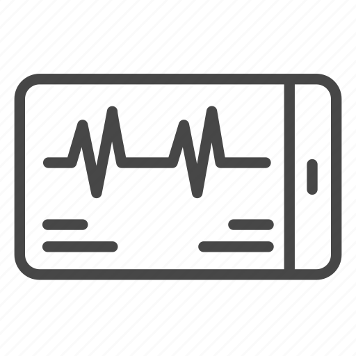 app, healthcare, medical, mobile, science, technology icon