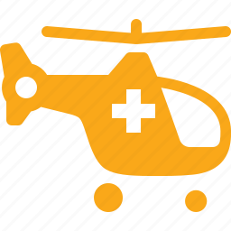 ambulance, emergency, first aid, helicopter icon