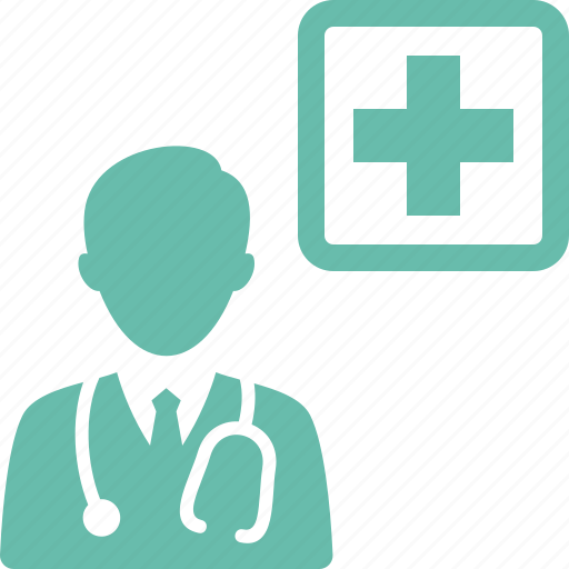 Doctor, first aid, healthcare, medical assistance icon