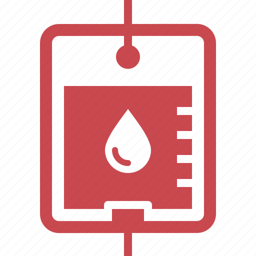 blood bag, blood donation, medical treatment icon
