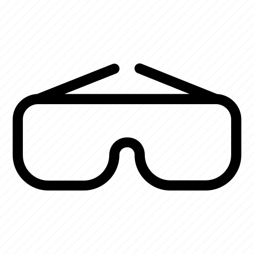 Chemical, glasses, goggles, healthcare and medical, lab, laboratory, protection icon - Download on Iconfinder
