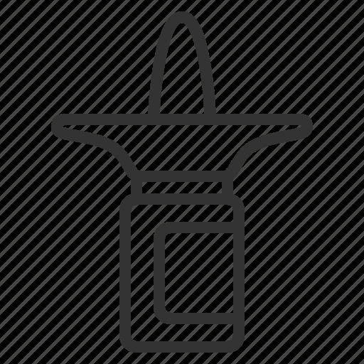 line, medical, nasal, outline, sprey icon