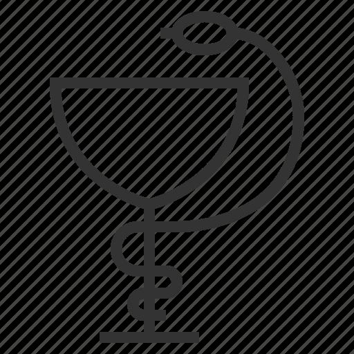 line, outline, pharmacy icon
