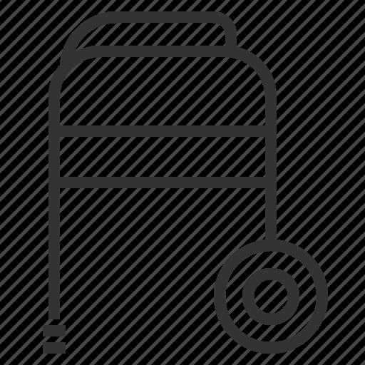 line, outline, walker icon