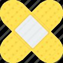 bandage, adhesive, aid, care, heal, hospital, plaster icon