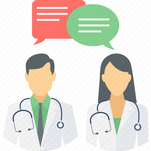 chat, communication, conversation, discussion, doctors, message, talk icon