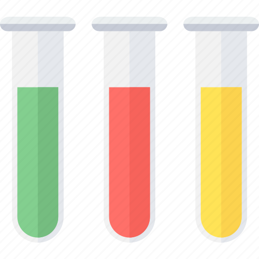 chemistry, laboratory, medical, research, science, test, tubes icon