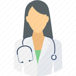 doctor, female, medical, medical assistant, nurse, physician, sister icon