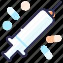 injection, medicine, pills, syringe, vaccine
