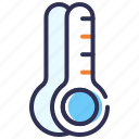 fever, health checkup, mercury thermometer, temperature, thermometer icon