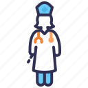 doctor, healthcare, hospital, medical personnel, pediatrician icon