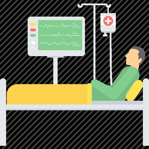 care, emergency, healthcare, hospital, icu, medical, treatment icon