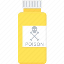 danger, poison, poisonous, warning icon