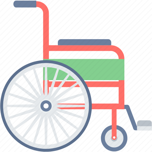 disable, disabled, handicap, hospital, hospital chair, patient, wheelchair icon