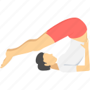 exercise, fitness, gym, health, meditation, relaxation, yoga icon