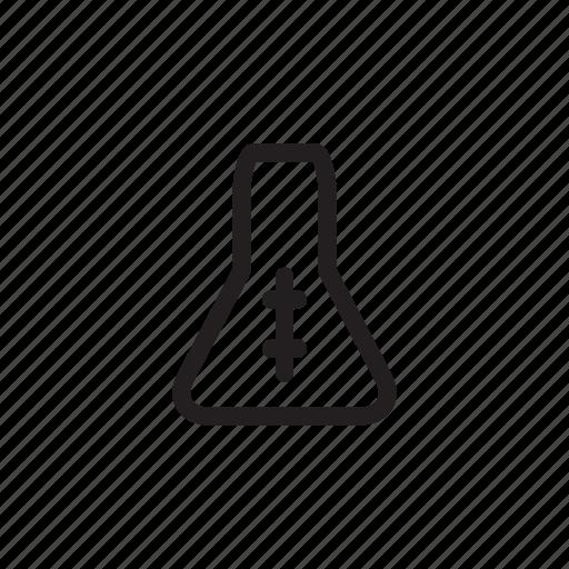 beaker, health, hospital, lab, laboratory, medical, test icon
