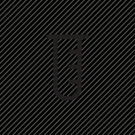beaker, health, hospital, lab, laboratory, medical, outline icon