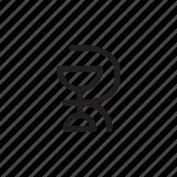health, hospital, logo, medical, outline, snake icon
