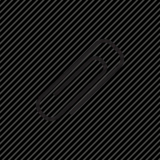 attach, attachment, clasp, clip, stationery icon