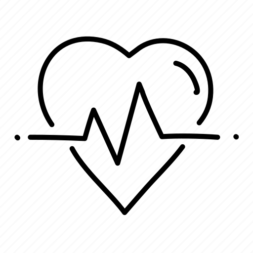 health, heart, heart rate, hospital, medical, physician, sketch icon