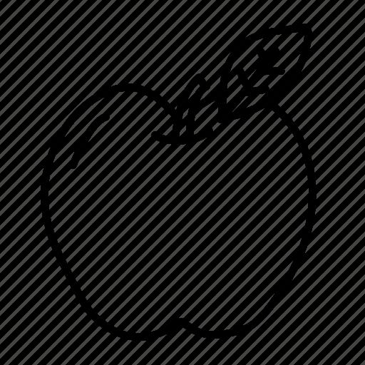 apple, food, health, hospital, medical, physician, sketch icon
