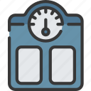 health care, hospital, medical, scales, weighing icon