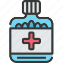 health care, hospital, medical, pills, tablets icon