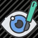 eye, eyes, health care, hospital, medical, surgery