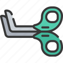 equipment, health care, hospital, medical, scissors icon