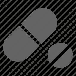 capsule, drug, pill icon