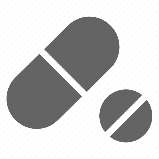 capsule, drug, pill, vitamin icon