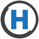 healthcare, hospital, medical, sign icon