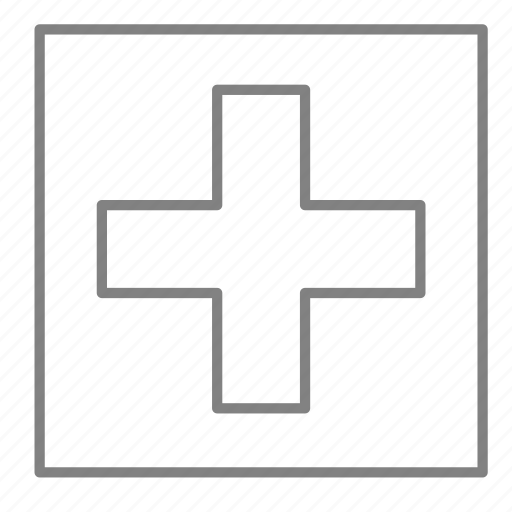Cross, doctor, emergency, first aid, health, hospital, medical icon - Download on Iconfinder