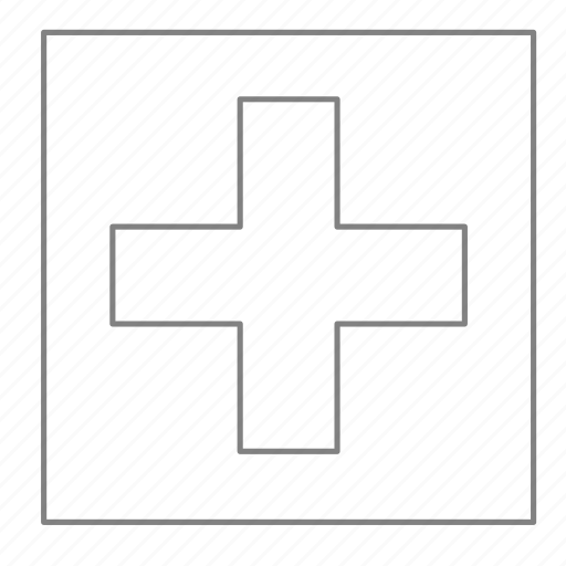 cross, doctor, first aid, health, hospital, medical, physician icon