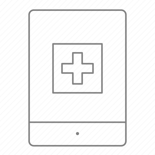 doctor, health, hospital, ipad, medical, mobile medical, physician icon