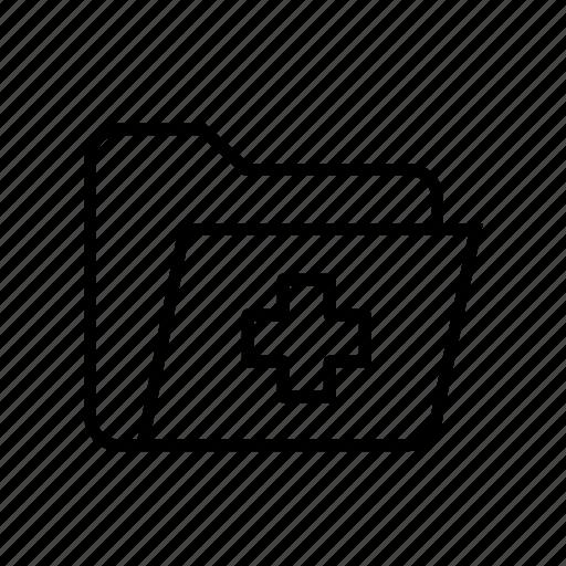 document, file, medical, medical document, medical paper icon