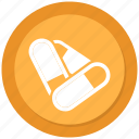 medication, medicine, pill, tablet icon