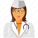 doctor, gyane, lady, medical, physician, practitioner, surgeon