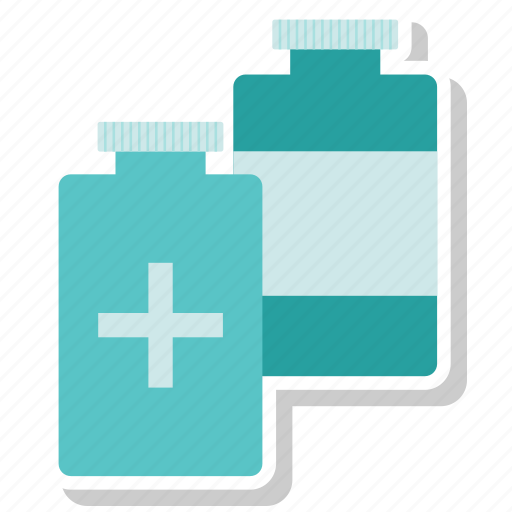 bottle, liquid, medication, medicine icon
