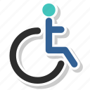disability, wheelchair icon