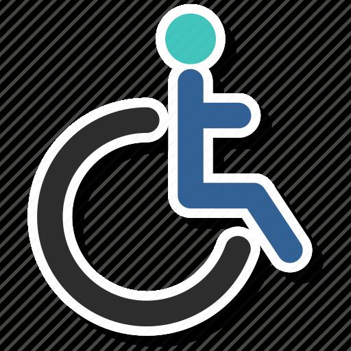 disability, wheelchair icon