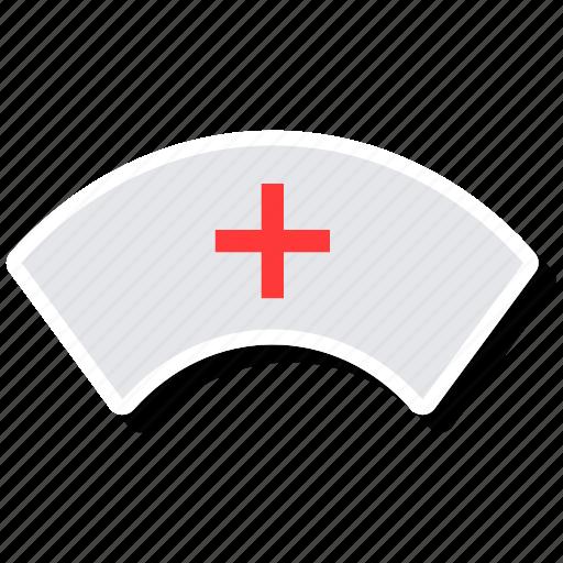 hat, nurse, user icon