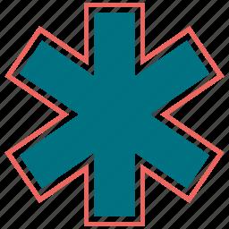 caduceus, medical, medicine, snake icon