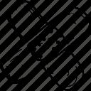adhesive, air, band, bandage icon
