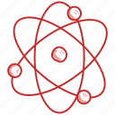 atom, laboratory, science icon