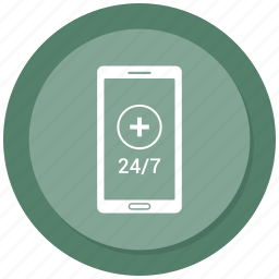 customer support, helpline, medical, medical sign, mobile, online, online support icon