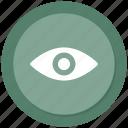 eye, impressions icon